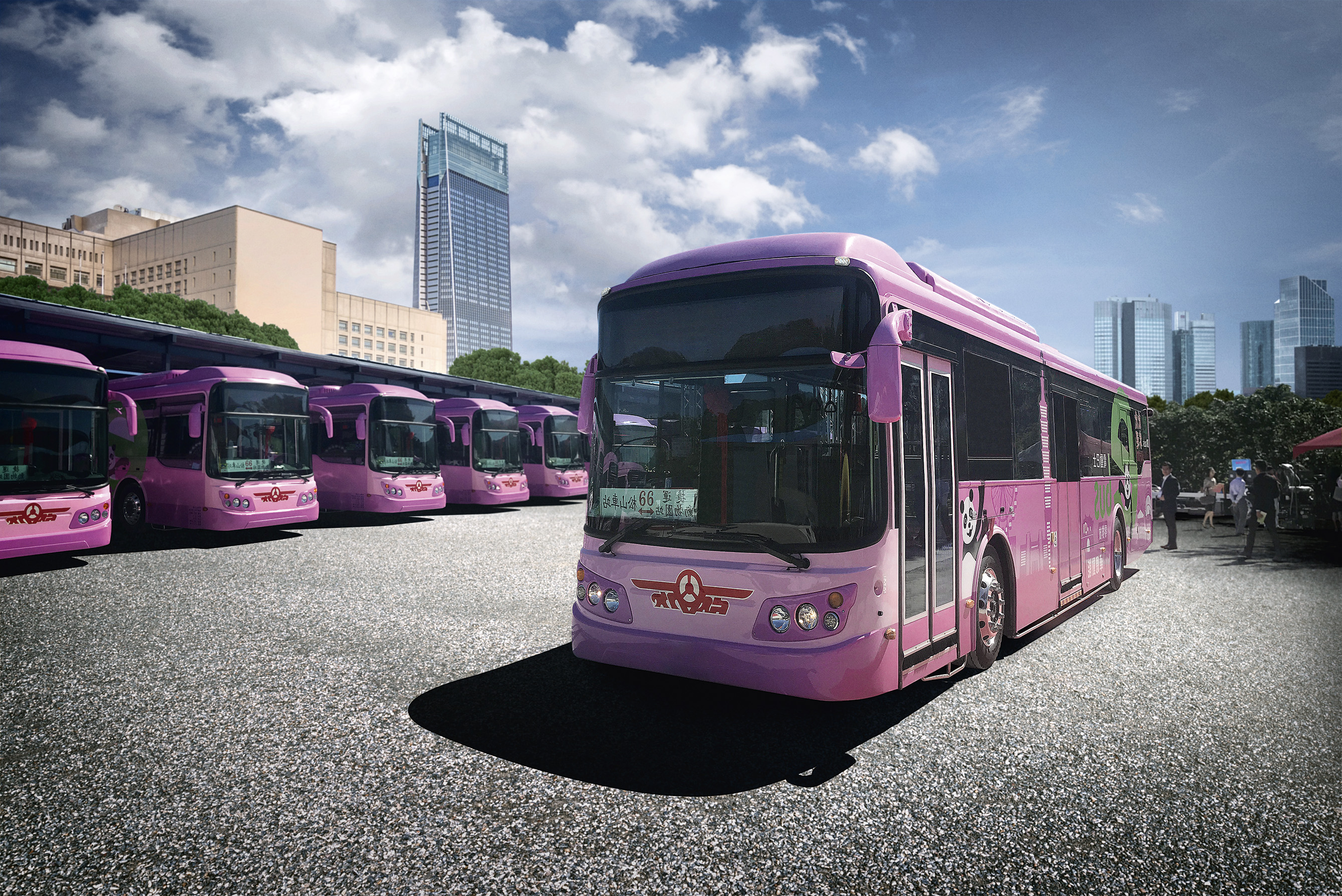 Taipei buses driving the electrical bus revolution | Danfoss