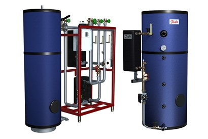 Domestic hot water storage systems with tank | Danfoss
