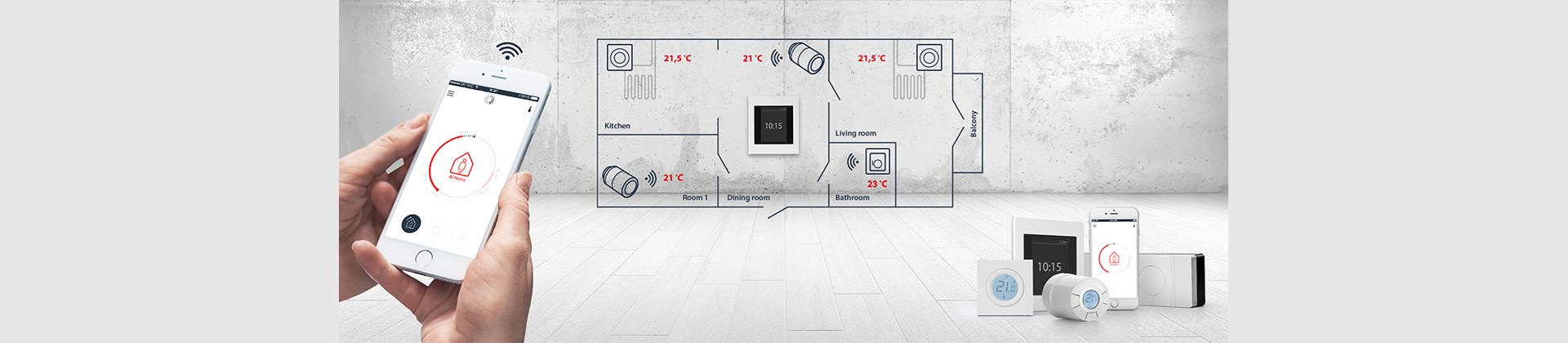 Smart Heating Intelligent Solutions For Home Comfort Danfoss Wiring A Room Thermostat What Is