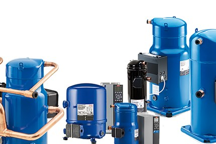Compressors for air conditioning and heating - Danfoss