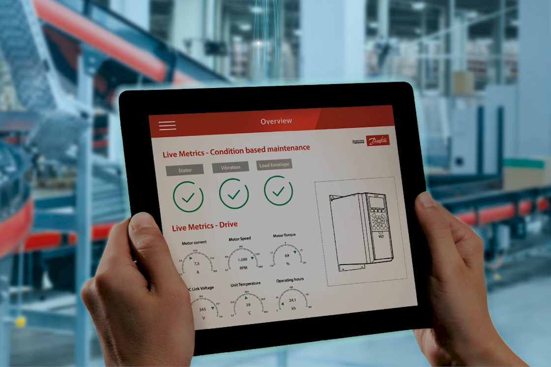 Blog Louis van der Kaaden over Condition Based Monitoring met Danfoss slimme frequentieregelaars