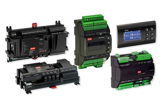 Controladores para compresores y condensadores - Danfoss