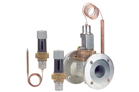 Thermostatic valves - Danfoss