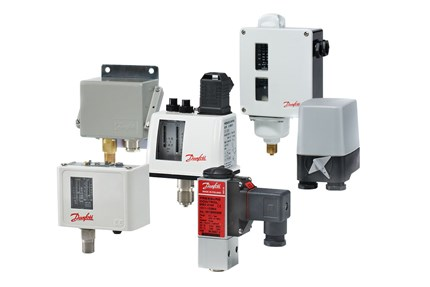 Industrial pressure switches - Danfoss
