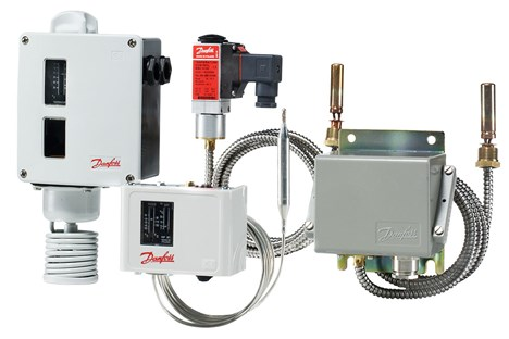 Industrial temperature switches - Danfoss