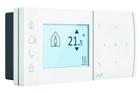 programmable room thermostat tpone danfoss. Black Bedroom Furniture Sets. Home Design Ideas