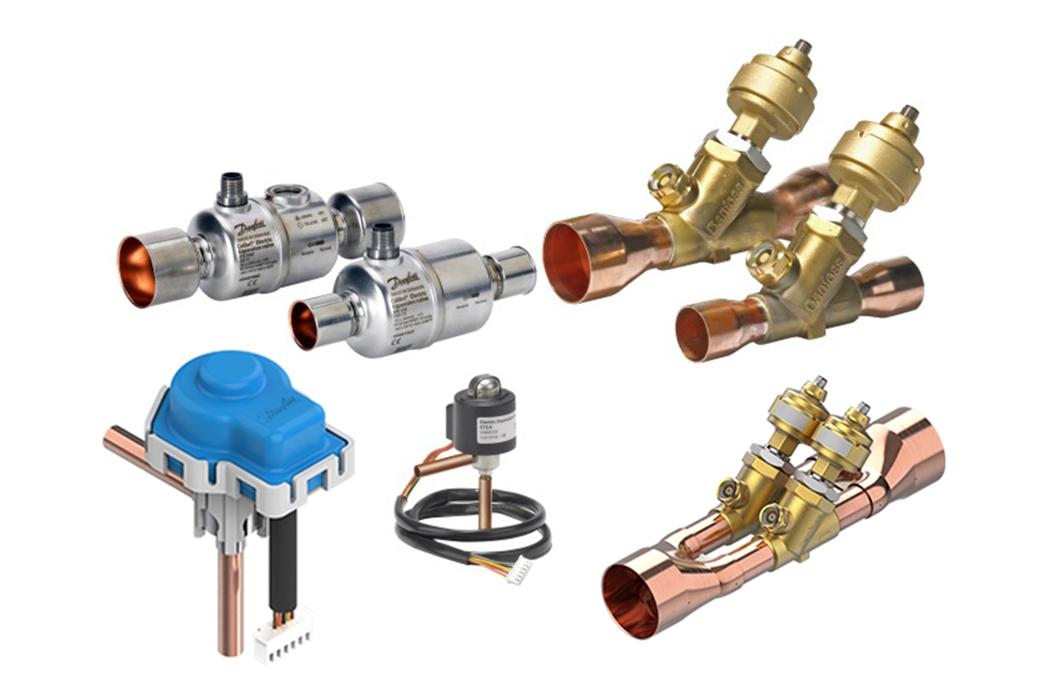 Electronic expansion valves (EEV) | Balanced ETS valve | Danfoss