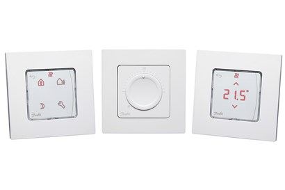 danfoss icon themostats for in-wall mounting