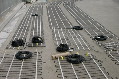 Heating Mats For Ice And Snow Melting Danfoss