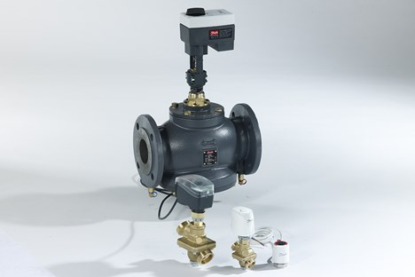 Danfoss AB-QM family incl. Actuators