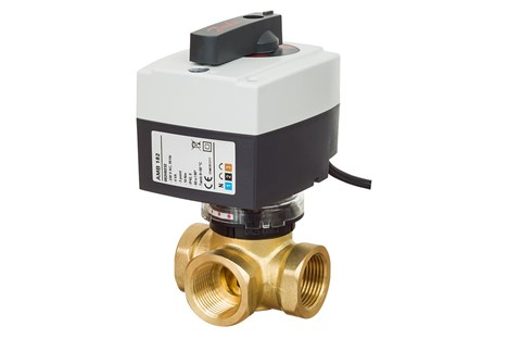 Motorised control valves and actuators   Danfoss