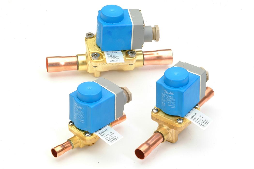 refrigeration solenoid wiring diagram evr solenoid valve evr valves for a c danfoss  evr solenoid valve evr valves for a c