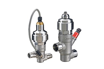 CCMT electric regulating valves, transcritical CO₂ - Danfoss