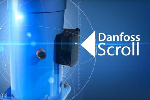 Scroll compressors for commercial refrigeration   Danfoss