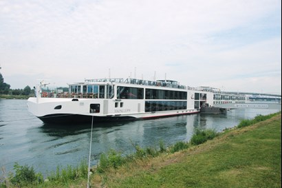 VACON® NXP Liquid Cooled Drive provides quiet and clean river cruising
