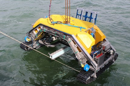 Accurate control of CT Offshore's ROV trencher