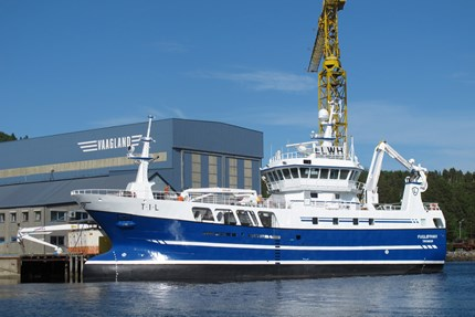 M/V Fugløyhav secures best price for its catch