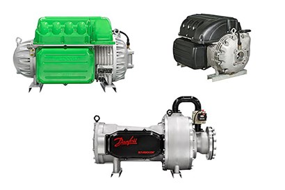 Danfoss Turbocor oil-free compressor technology
