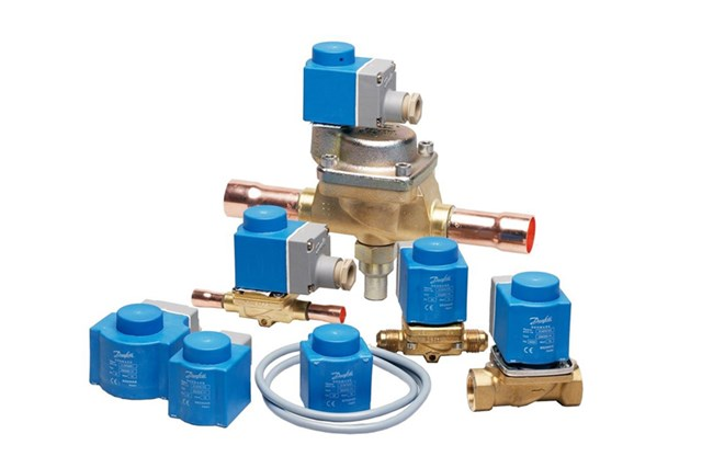 Solenoid valves for HVAC