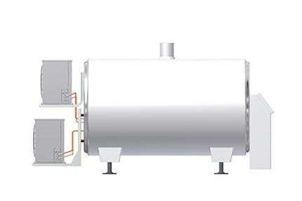 Tanques de refrigeración de leche - Danfoss