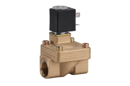 EV220A servo-operated 2/2-way solenoid valves