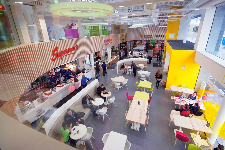 Smart Store Brought To Life At Irish Service Stations