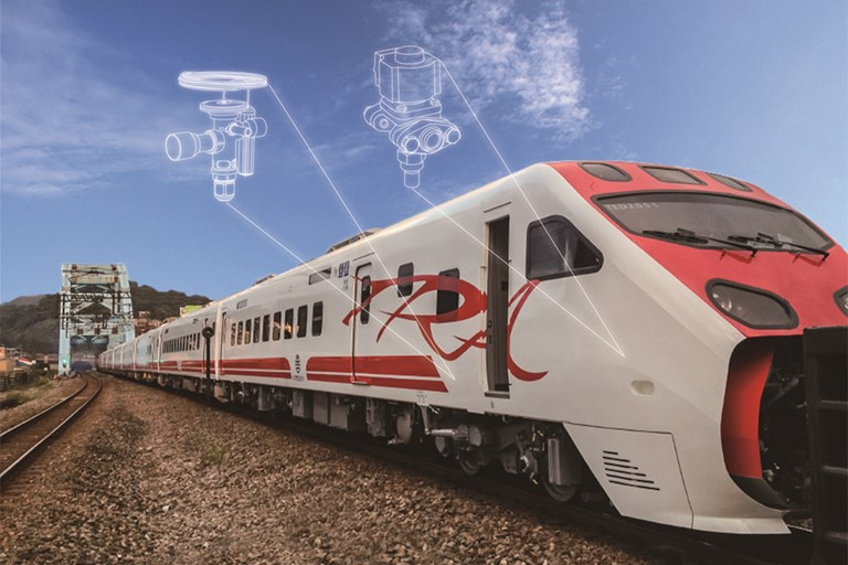 Danfoss makes travelling by train in taiwan pleasant and comfortable Danfoss