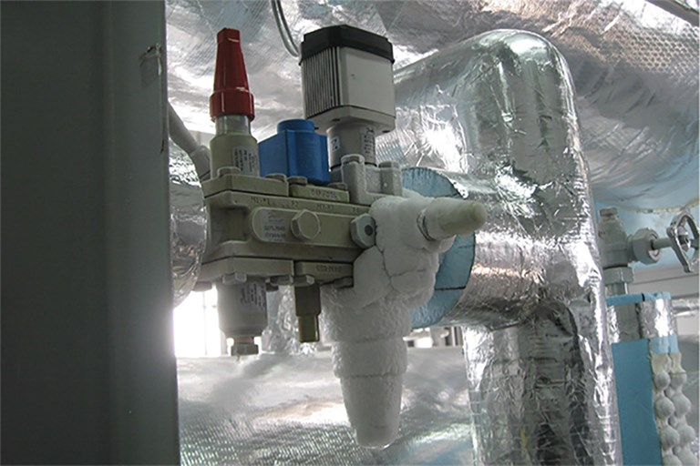Danfoss Technology Helps to Provide Outstanding Results in Temperature Control and Energy Efficiency in a Dual Temperature Ammonia/CO₂ Fluid Refrigeration System