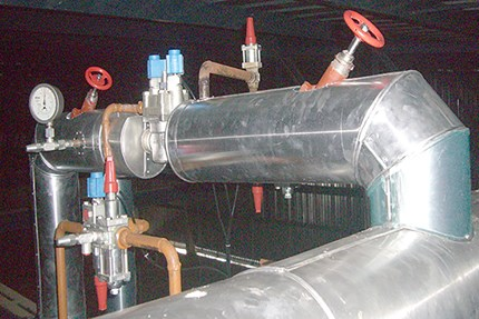 ICF valve station helps customer reduce the risk of ammonia leakage Danfoss
