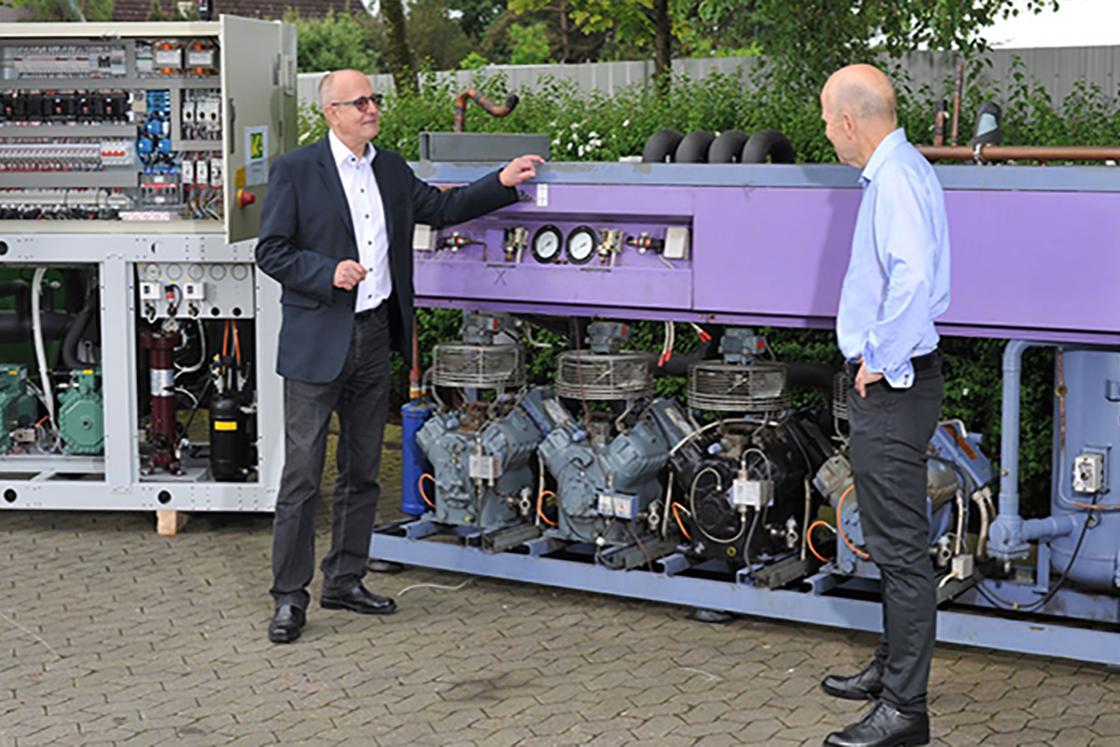Mr  CO₂ retires - but he never tires of CO₂ | Danfoss
