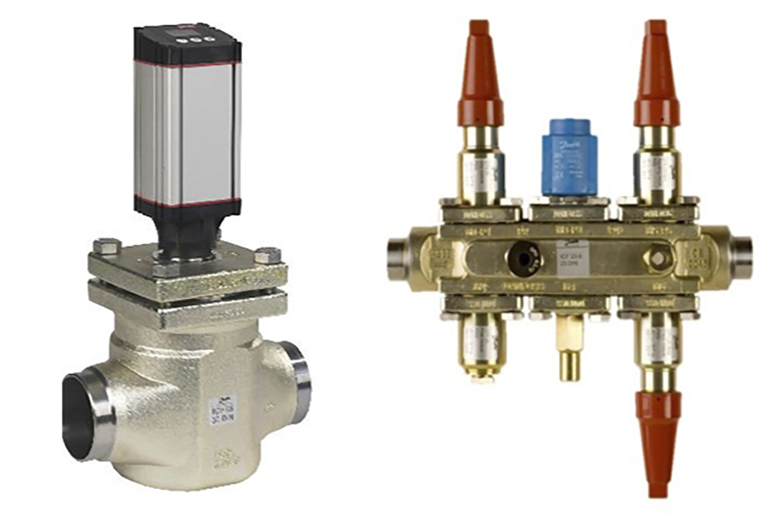 Danfoss's ICM and ICF components are crucial for precision temperature control
