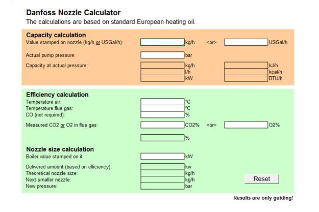Oil nozzles | Danfoss