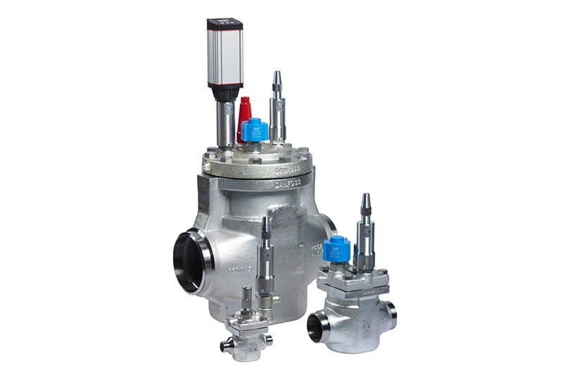 ICS pilot operated servo valve - Danfoss