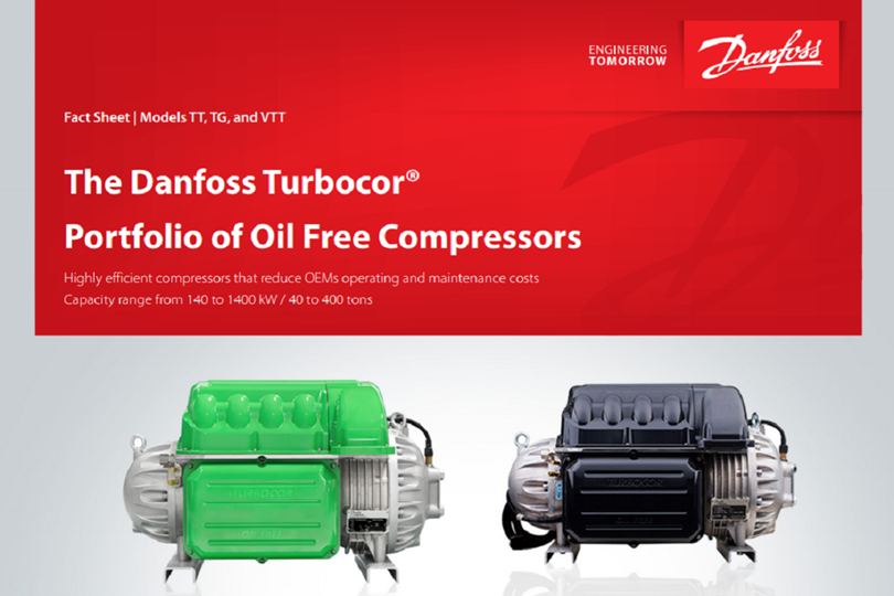 Turbocor fact sheet - Danfoss