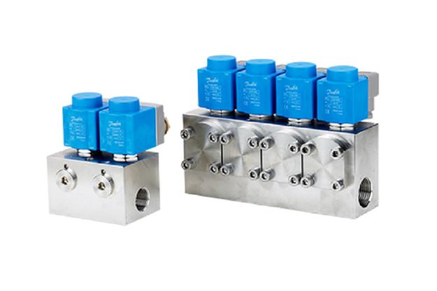 Solenoid valves for high-pressure applications   Danfoss