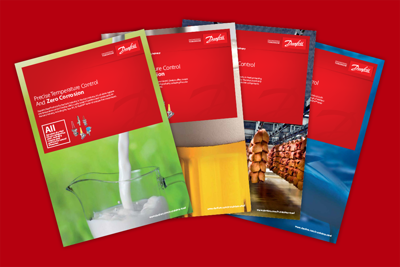 Brochures - Stainless steel line components for industrial refrigeration - Danfoss
