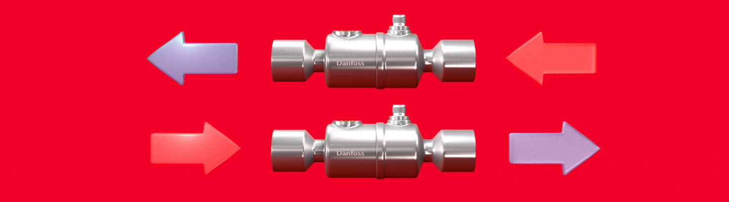Image representation of the series of new products for the ETS colibri valve by Danfoss