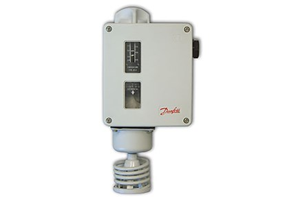 RT temperature switches for marine machinery danfoss