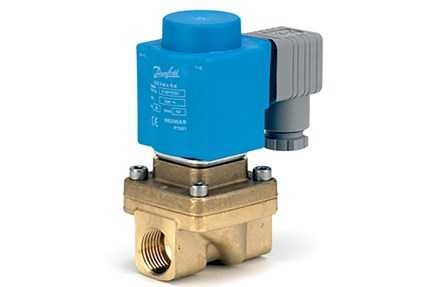EV250B 2/2-way assisted lift operated solenoid valve danfoss