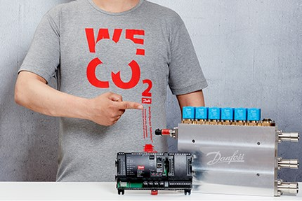 "Danfoss is proud to declare: ""We love CO2"", and with the Multi Ejector Solution™ you will too"