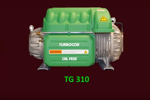 Danfoss Turbocor® TG series: Oil-free compressors using HF0