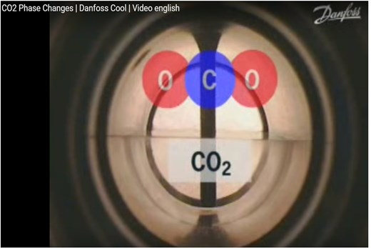 Learn about CO₂ as a natural refrigerant | High energy efficiency