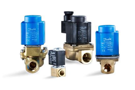Solenoid valves for refrigeration systems | Danfoss