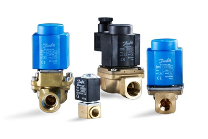 Danfoss solenoid valves for marine applications - product family