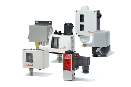 Danfoss pressure switches for marine applications - product family