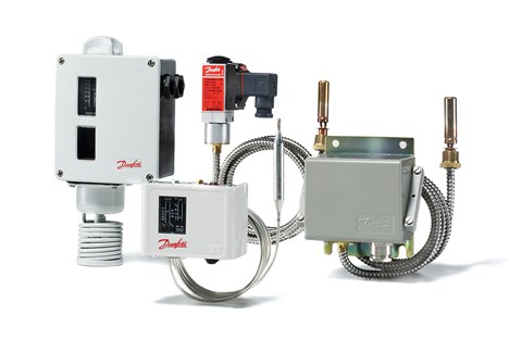 Danfoss temperature switches for marine applications - product family