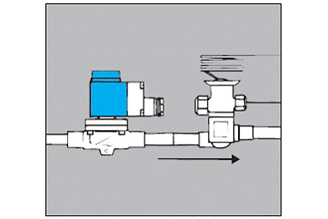 Refrigeration Solenoid Wiring Diagram Schematics Valves For Systems Danfoss Assembly