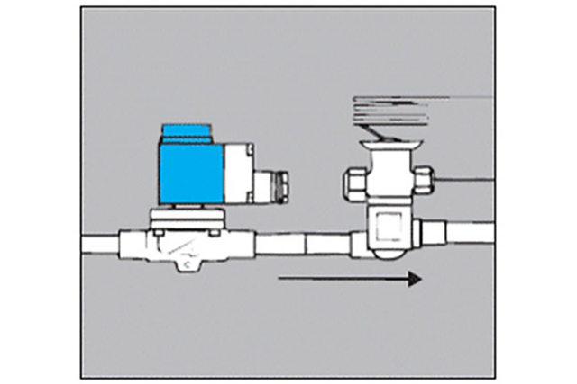 refrigeration solenoid wiring diagram solenoid valves for refrigeration systems danfoss  solenoid valves for refrigeration