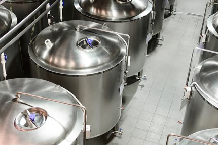 Danfoss industrial refrigeration products for brewery applications
