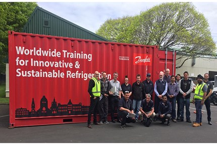 CO2 on the move in 2017: bringing hands-on CO2 training to the customers Danfoss